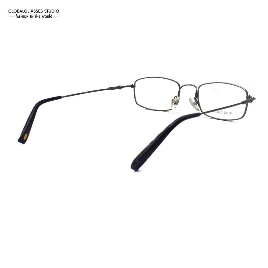 Aliexpress.com : Buy Vintage Metal Glasses Frame Gunmetal Color Men ...