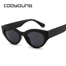 COOYOUNG New Fashion Cute Sexy Ladies Cat Eye Sunglasses Wom