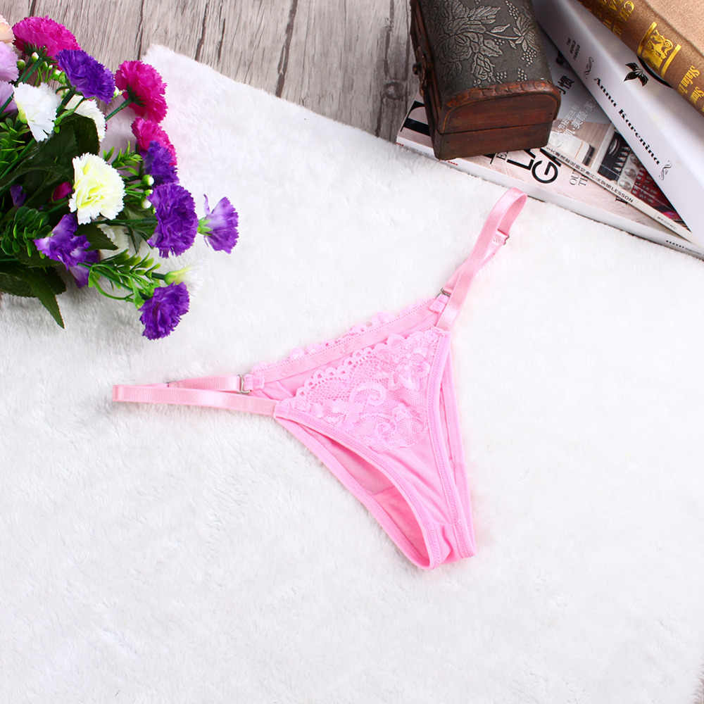 sexy G-string underwear panties brief lace seamless sexy women thong Knickers transparent lingerie underpants breathable panties