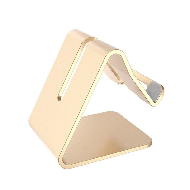 Aluminum Metal Phone Tablet Holder Desktop Universal Non slip Mobile Bracket Stand Holder for Phone in Phone Holders Stands from Cellphones Telecommunications