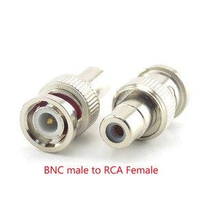 Image 5 - 2/5/10Pcs Bnc Connector Vrouwelijke Bnc Male Naar Male Rca Bnc Vrouwelijke Om rca Male Adapter Plug Voor Systeem Cctv Camera