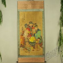 China Antique collection Boutique Calligraphy and painting Blessing Prosperity Longevity diagram