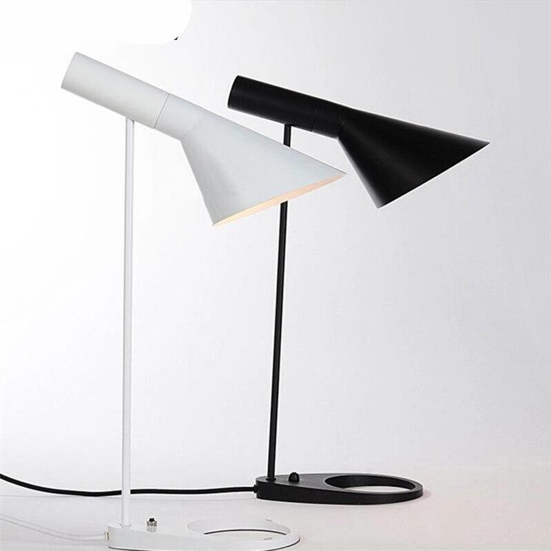 Vintage Denmark Louis Poulsen AJ Table Lamp Led E27 Table Lamp for Wedding Decor Living Room Bedroom Restaurant 1453 skagen denmark ожерелье