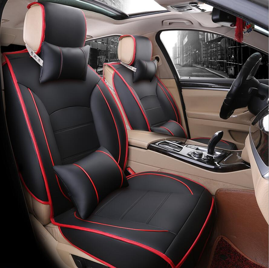 Universal PU Leather car seat covers For Toyota Corolla Camry Rav4 Auris Prius Yalis Avensis SUV auto accessories car sticksUniversal PU Leather car seat covers For Toyota Corolla Camry Rav4 Auris Prius Yalis Avensis SUV auto accessories car sticks