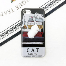 Squishy Lazy Cat Case for iPhone