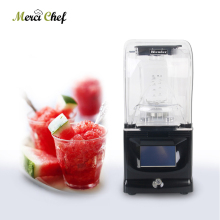 BPA Free Commercial Blender 1.5L Mixer Multifunction Blender Juicer Smoothie Intelligent Control Reduce Noise Food Processor купить недорого в Москве