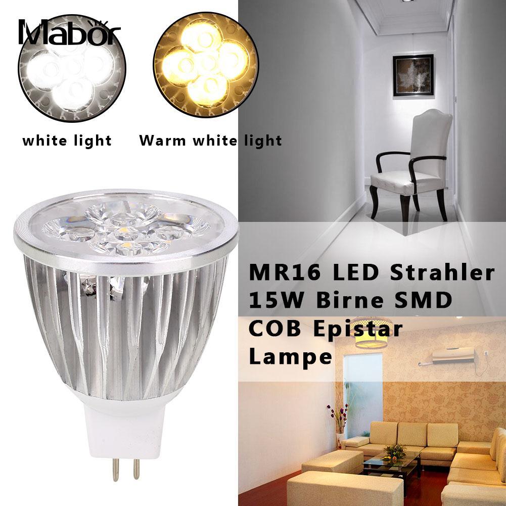 Lighting Fixture LED Bulb 120-300lm Energy Saving Indoor Outdoor Spotlight Bulb Room Lighting Aluminum Long Life