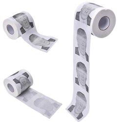1 Rolle Donald Trump Toilettenpapier-Neuheit Lustige Toilettenpapier Gag Geschenk-Dump trump