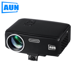AUN Projector AM9 Entry Level 800 Lumens LED Projector with ATV HDMI VGA Port for Children Education Home Theatre MINI Beamer