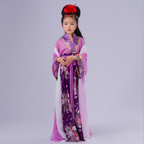 New Design Children new Chinese costume Hanfu Children's clothes of Tang Dynasty costumes Cosplay party dress 130cm-150cm