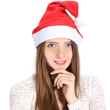 yooap Non-woven Christmas Hat Red Adult Ordinary Supplies Send Friends Family Colleagues