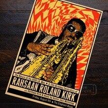 rahsaan roland kirk jazz saxophone music classic canvas