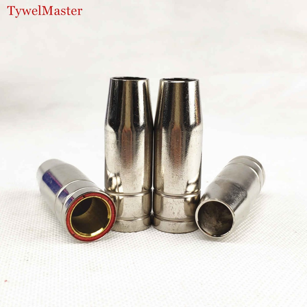 4pcs 15AK MIG Nozzle MIG Welding Torch Gas Nozzle TIP Protective Shield Cup For MIG Welding Machine