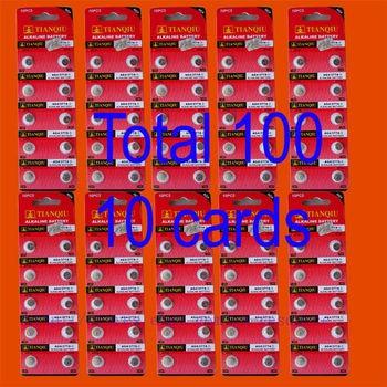 5000PCS AG4 LR626 377 SR626SW alkaline battery TIANQIU
