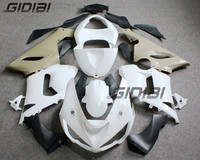 Unpainted ABS Injection Mold Bodywork Fairing Kit For KAWASAKI ZX6R ZX6 R 2005 2006 +4 Gift