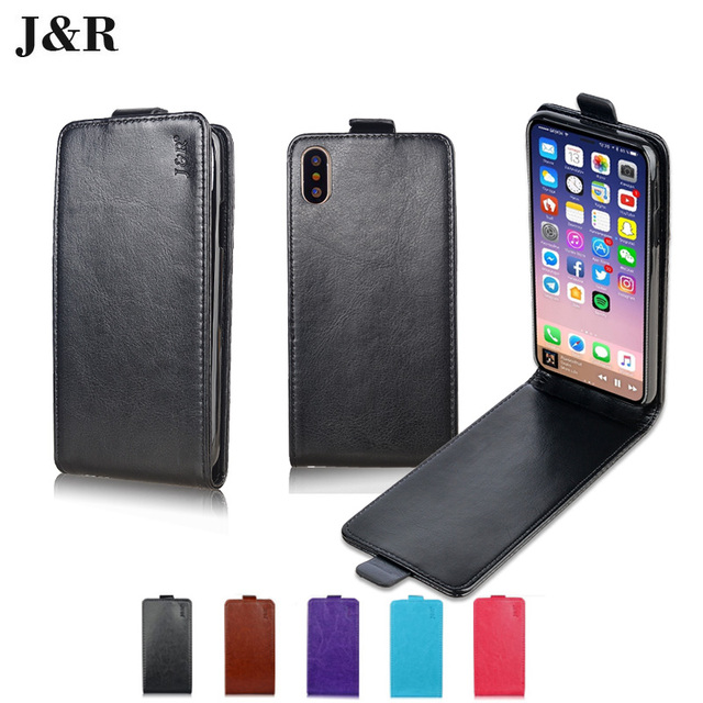 best service d3954 40d7a US $5.0 |Phone Case For Apple iPhone X Cover Leather For iPhone X Flip Case  Business Style Vertical Protective Pouch Fundas Capa Coque-in Flip Cases ...