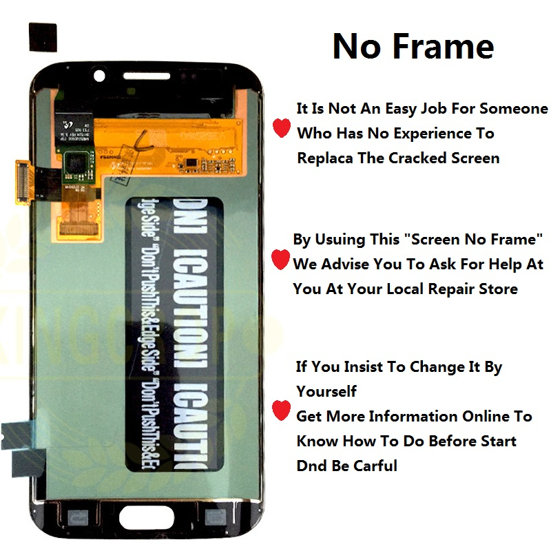 HTB1XCJLLpzqK1RjSZSgq6ApAVXaM 5.1For Samsung Galaxy S6 Edge LCD G925 G925F SM-G925F Display Touch Screen Digitizer Assembly with frame For SAMSUNG S6 Edge LCD