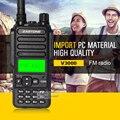 V3000 400-480HMz UHF Zastone Walkie Talkie Radio Portátil Comunicater Transmisor