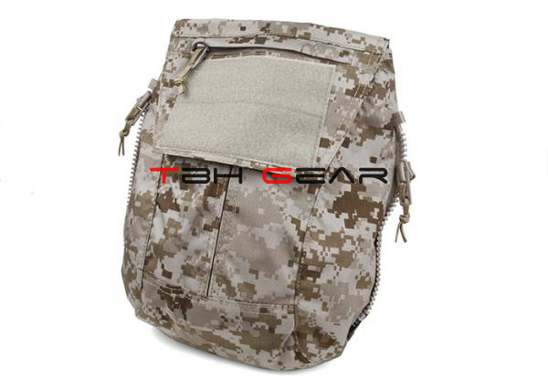 TMC Tactical Vest Back Zip On Panel Pack For AVS CPC JPC2.0 AOR1 AOR2 Utility Pouch Bag+Free shipping(SKU12050868) tmc tactical vest zip on panel pack for