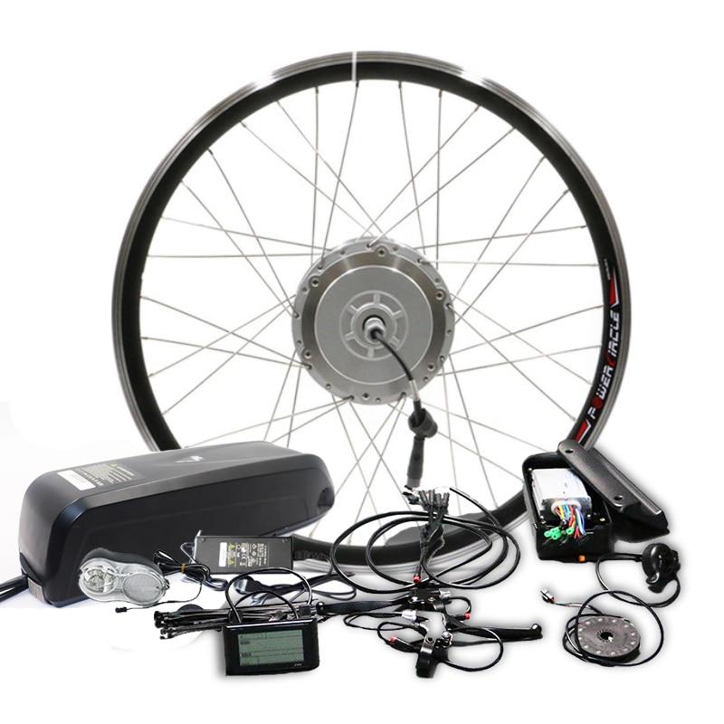 Kit de Conversion de vélo électrique BAFANG 48 V 500 W avec batterie au Lithium 48V20AH 8fun moteur à engrenages BMP 26