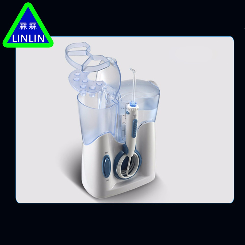 Image 2 - LINLIN H2ofloss Electric  Jet Teeth Waterflosser Dental Shower Cleaning Machine Dental Water Flosser Teeth Whitening Strips-in Teeth Whitening from Beauty & Health