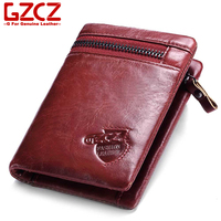GZCZ 2018 Women Wallet Purse Female Organizer Leather Luxury Pouch Women Purse Handbag Genuine Leather Case Phone Pocket