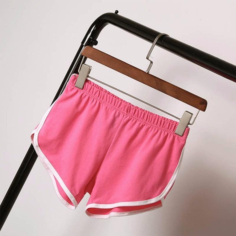 New Summer Shorts Women Casual Shorts Workout Waistband Skinny Short 27