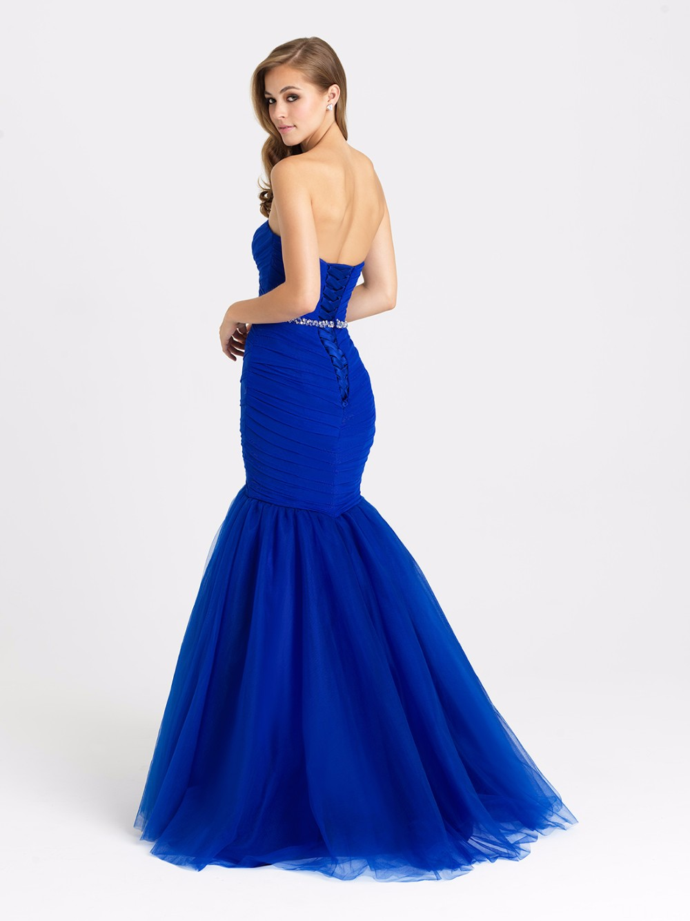 Wejanedress Sexy Wedding Guest Dress Off The Shoulder Sleeveless Royal Blue Mermaid Bridesmaid Dresses For Formal Party Gown In From