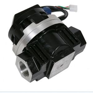 Image 5 - 액체 터빈 유량계 디지털 유량계 펄스 출력 ogm 전자 타원형 터빈 유량 센서 액체 유량계