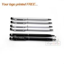 New design stylus galaxy note 2 grey screen touch pen 40pcs a lot personalized items custom with your own and logo text