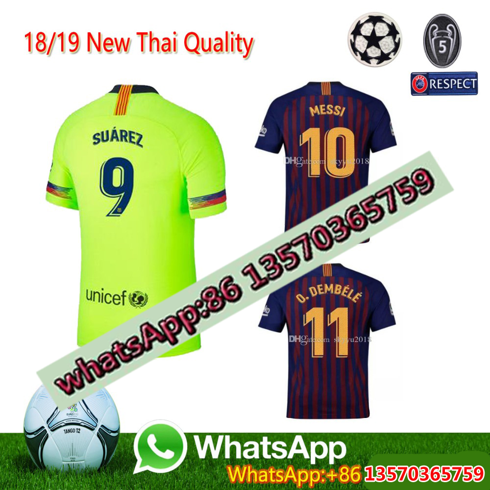 38e4daadd Find Similar 26 2018 2019 FC Barcelona MESSI Soccer Jersey MEN third away  pink man Kids kits 18 19 SuArez DEMBELE COUTINHO f