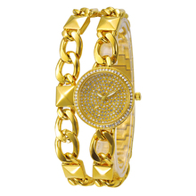 Hot Luxury Brand Women Bracelet watch Diamond Fashion Rhinestone Watch Casual Steel Clock Female Quartz Ladies Gold Wristwatch