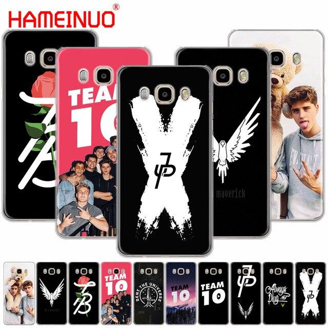 0d2fe5ba20b HAMEINUO youtube celebrity Jake Paul Team 10 Cute cover phone case for Samsung  Galaxy J1 J2 J3 J5 J7 MINI ACE 2016 2015 prime