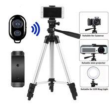 Statyw do mobilnego statyw do aparatu Dslr Stick Para stojak Bluetooth Monopod Cam Box ramka na fotografię stół Smartphone statyw do aparatu