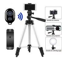 Trípode Bluetooth compatible con Disparador remoto para cámara, palo de selfi para Iphone, soporte para monopié de teléfono