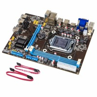 For 8 Graphics Cards Mining Miner Machine Professional Compact PCI E B85 Motherboard ETH X79 Mainboard DDR3 Support for Intel