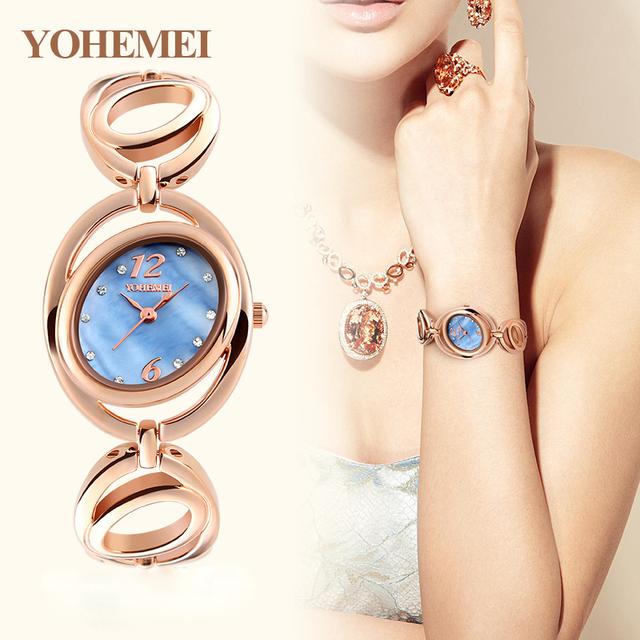 Топ Роскошные Женщины Смотреть Известные Бренды Золото Дизайн Моды Браслет Часы Дамы Женщины Наручные Часы Relógio Femininos 4 цвет