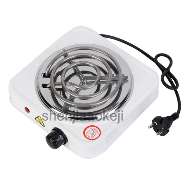 Portable Electric Iron Burner Single Stove Mini Hotplate Home Kitchen Coffee Heater Cooker Hot Plate