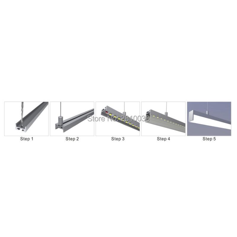 10 X 0.5m Sets/lot 60 Cornered Led Band Profil For Led Strip Light And Anodized Led Channel Mount Profile For Wardrobe Lights Led Lighting