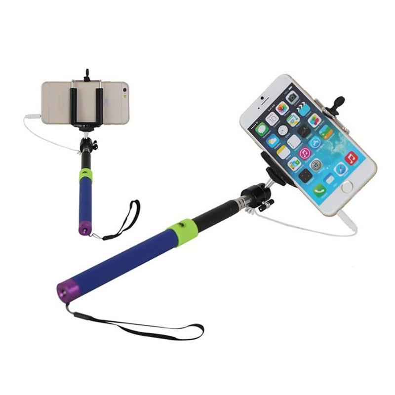 Orbmart erweiterbar Handheld Selfie Stick Einbeinstativ mit drahtlose Kamera Auslöser Fernbedienung für iPhone Samsung Android-Handy
