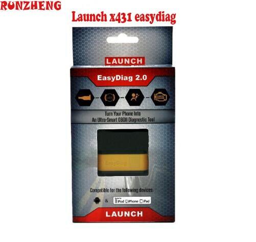 Цена за Оригинал старта X431 EasyDiag 2.0 OBDII Code Reader Сканер обновление онлайн Запуск X431 Легко Diag 2 в 1 для Android IOS EOBD БЕСПЛАТНАЯ