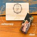 Custom Color Print Art Photography Family Wedding Wood USB Flash Drive Gift USB (30 pcs can print logo for free )