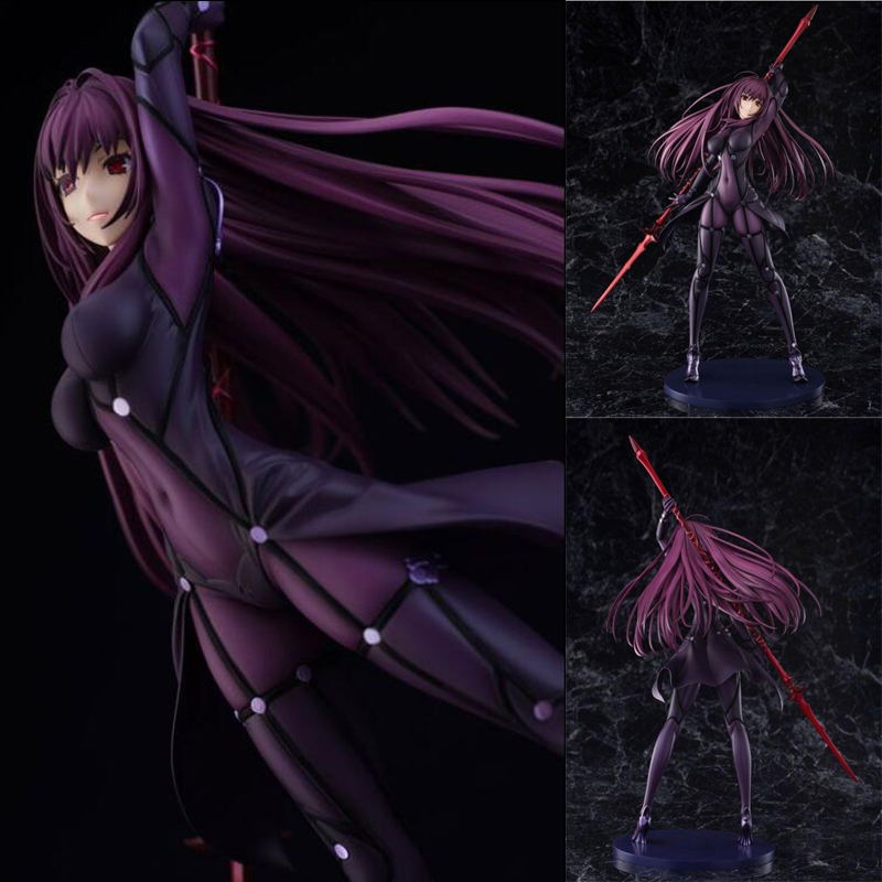 Scathach Fate/Grand Order 1/7 scale action painted anime figure 31cm sexy toys collection dolls figures gift with box F7049 Scathach Fate/Grand Order 1/7 scale action painted anime figure 31cm sexy toys collection dolls figures gift with box F7049