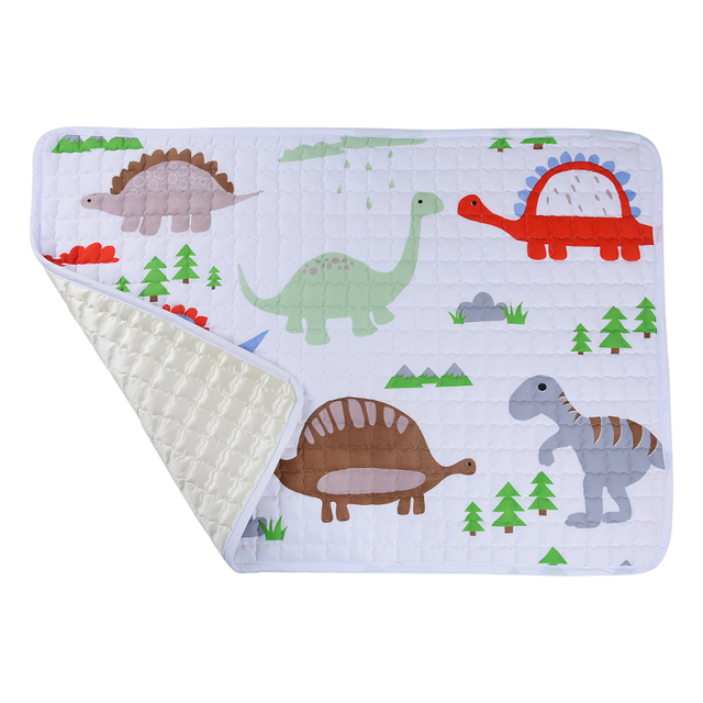 Dinosaurs Soft Quilted Play Mat