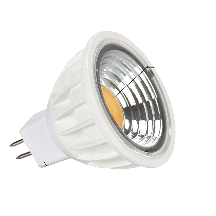 White Cabinet Showcase COB 9W 900LM LED Spotlight GU10 MR16 E27 E14 Display Ceiling Spot Down Light Bulb Bombillas Lampada CE UL