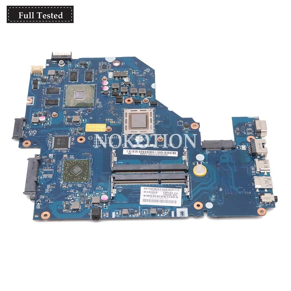 NOKOTION NBMLE11001 NB MLD11 001 LA B221P Main board For font b Acer b font Aspire