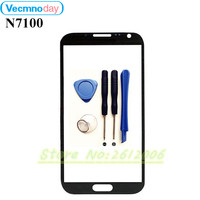 Front Glass Touch Panel For Samsung Note 2 N7100 Original Front Outer Glass Lens Cover Touch
