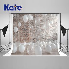 Kate Children Birthday Backdrop Photography White Balloons Baby Shower Backdrop Washable Backgrounds For Photo Studio kate blue snow photo backdrop christmas with trees bokeh light backdrops fotografia washable and seamless baby shower backdrop