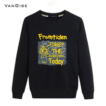 VanGise Hoodies men brand clothing fashion printed sweatshirt men O-neck long sleeve male tracksuit tee coats pullovers hooded