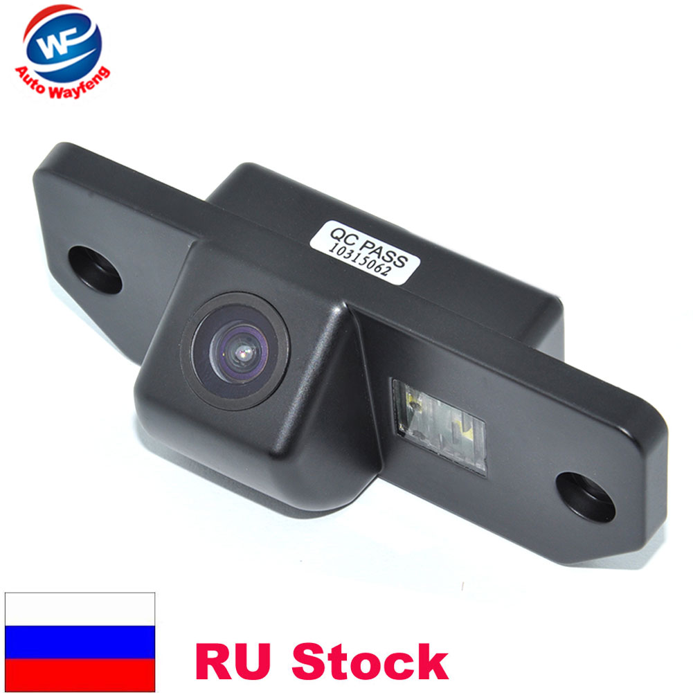 Rétroviseur de voiture Caméra HD CCD Vue Arrière de Voiture Parking Caméra de Recul 170 Degrés Pour Ford Mondeo 09 Focus (hayon) Fiesta Smax